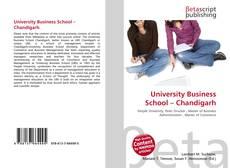 University Business School – Chandigarh的封面