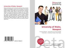 Bookcover of University of Wales, Newport