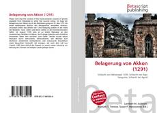 Buchcover von Belagerung von Akkon (1291)