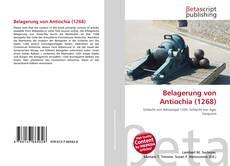 Bookcover of Belagerung von Antiochia (1268)