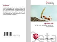 Borítókép a  Queen Ant - hoz