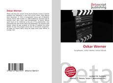 Capa do livro de Oskar Werner