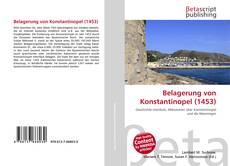 Bookcover of Belagerung von Konstantinopel (1453)