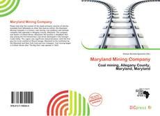 Bookcover of Maryland Mining Company