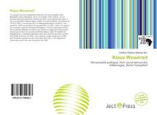 Обложка Klaus Wowereit