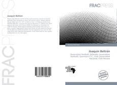 Joaquín Beltrán kitap kapağı