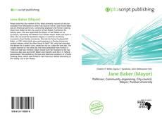 Jane Baker (Mayor)的封面