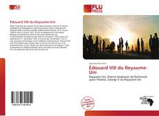 Bookcover of Édouard VIII du Royaume-Uni