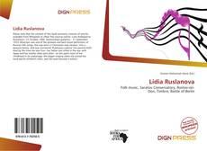 Lidia Ruslanova kitap kapağı
