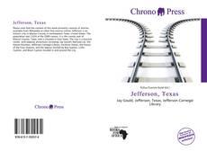 Capa do livro de Jefferson, Texas
