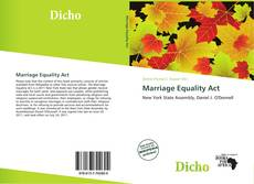 Buchcover von Marriage Equality Act