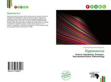 Capa do livro de Gyposaurus