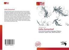Lidia Zamenhof kitap kapağı