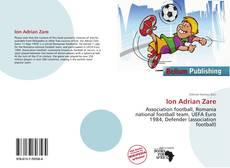 Ion Adrian Zare kitap kapağı