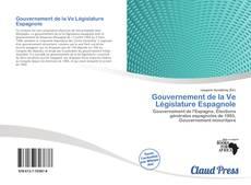 Capa do livro de Gouvernement de la Ve Législature Espagnole