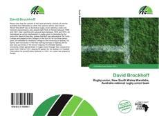 Bookcover of David Brockhoff