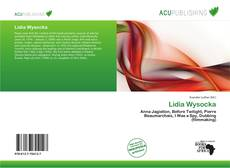 Bookcover of Lidia Wysocka