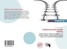 Bookcover of California Area Public Library