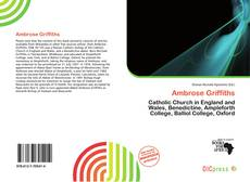 Bookcover of Ambrose Griffiths