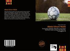 Bookcover of Abdul Ghani Malik