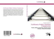 Bookcover of California Public Utilities Commission
