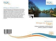 Capa do livro de Philippe de Belgique (1960-)