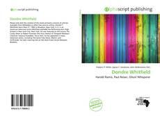Couverture de Dondre Whitfield