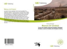 Обложка Maison de Chabot