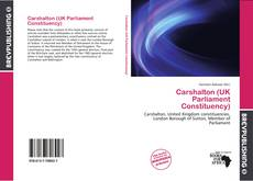 Bookcover of Carshalton (UK Parliament Constituency)