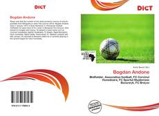 Bookcover of Bogdan Andone