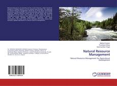 Capa do livro de Natural Resource Management