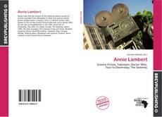 Bookcover of Annie Lambert