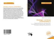 Bookcover of George Landow (Filmmaker)