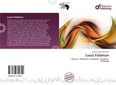 Louis Feldman kitap kapağı