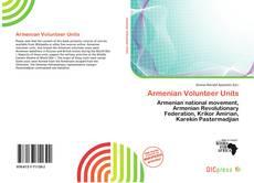 Portada del libro de Armenian Volunteer Units