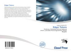 Bookcover of Edgar Tekere