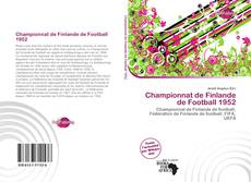 Bookcover of Championnat de Finlande de Football 1952