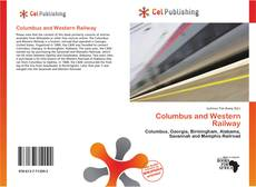 Bookcover of Columbus and Western Railway