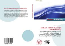 Bookcover of Fulham (UK Parliament Constituency)