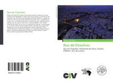 Bookcover of Duc de Chaulnes