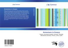 Bookcover of Armenians in Greece