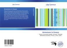Capa do livro de Armenians in Greece