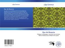 Capa do livro de Duc de Bisaccia
