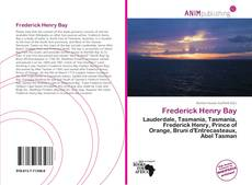 Bookcover of Frederick Henry Bay