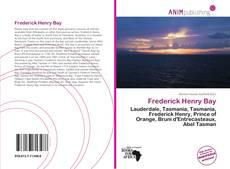 Couverture de Frederick Henry Bay