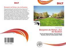 Portada del libro de Benjamin de Rohan, duc de Soubise