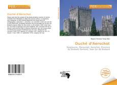 Обложка Duché d'Aerschot