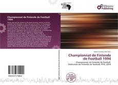 Championnat de Finlande de Football 1994 kitap kapağı
