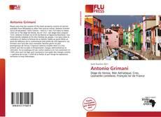Bookcover of Antonio Grimani