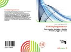 Lancanjiangosaurus kitap kapağı
